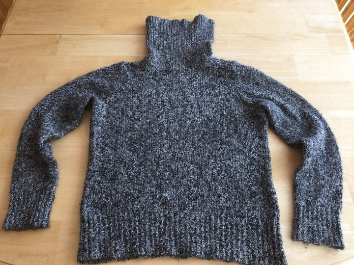 5 items for your winter home from one thrift store sweater part 3