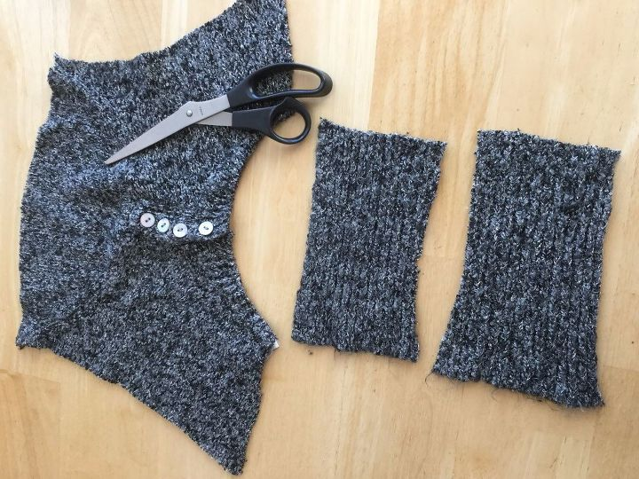 5 items for your winter home from one thrift store sweater part 5