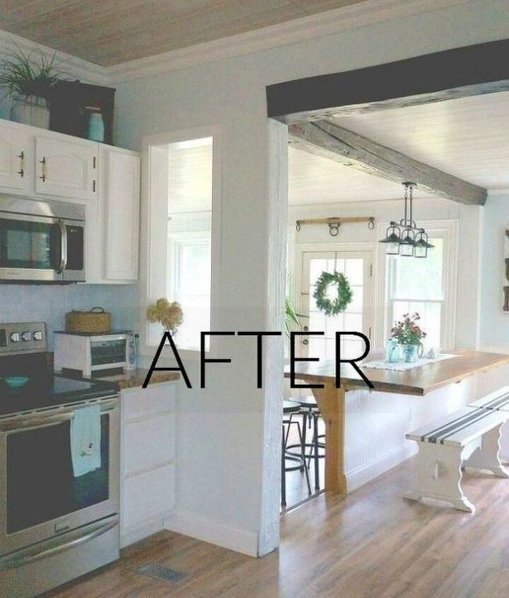 s the best room makeovers of 2016, After An open and spacious area