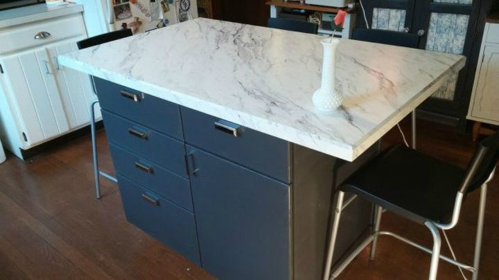 s you never thought of putting your kitchen cabinets here 13 ideas, kitchen cabinets, kitchen design, In the center of a kitchen floor as an island