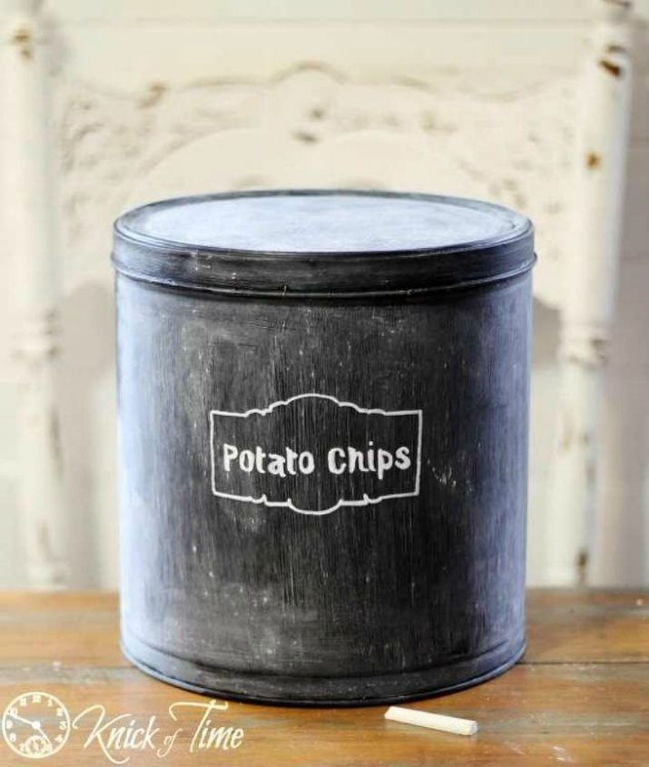 s don t throw away those popcorn tins before you see these 13 ideas, Use it to store your favorite snack