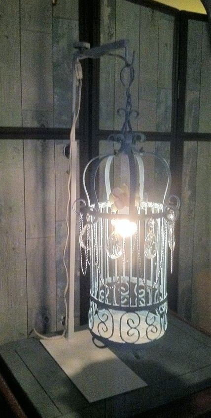 accent lighting a bright idea for your old bird cage, lighting