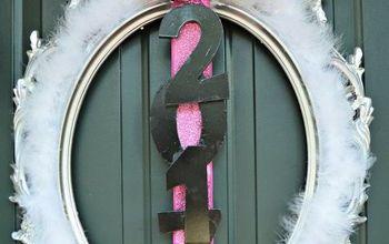 make a new year s wreath, crafts, wreaths