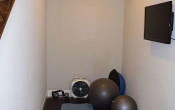 Workout Ball Holder - Home Gym Organization
