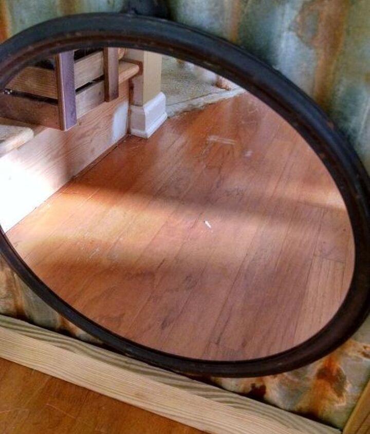 rustic rustic mirror, home decor