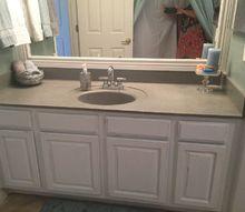 my little bathroom makeover for 50, bathroom ideas