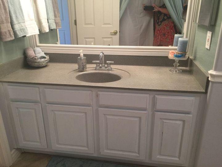 My Little Bathroom Makeover for $50