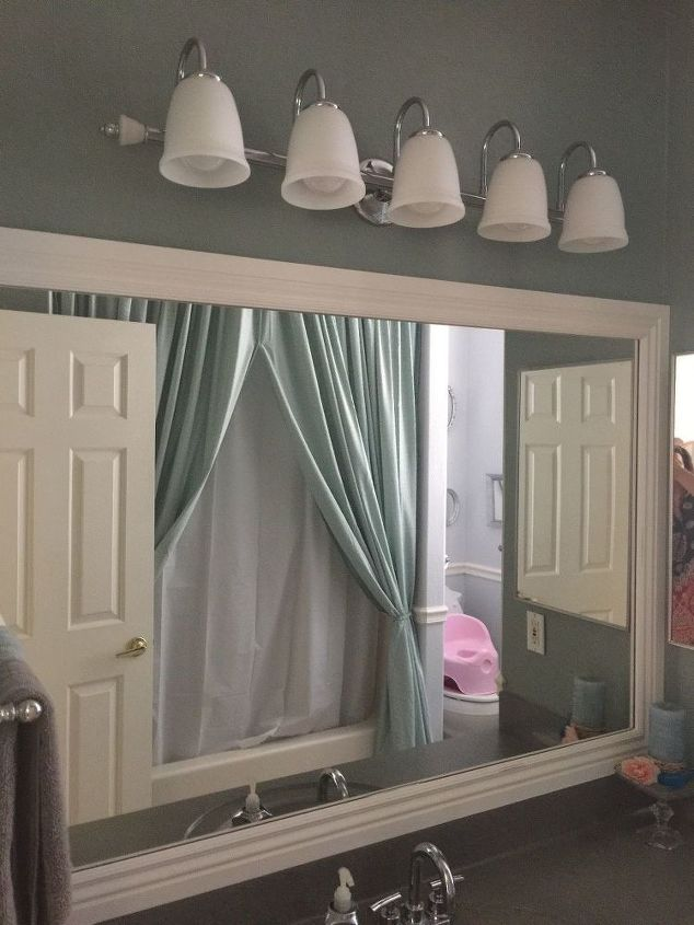My Little Bathroom Makeover for $50 | Hometalk