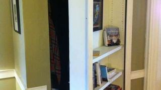 Make Sure It Can Be Slid To The Side That Does Not Have Vent If You Would Decide A Moveable Bookshelf Instead Of Building Book Shelf