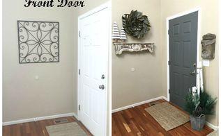 painting the inside of your front door, doors