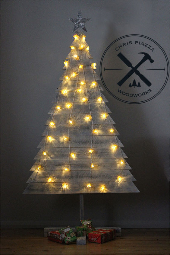 Pallet Wood Christmas Tree.Diy Pallet Wood Christmas Tree Hometalk