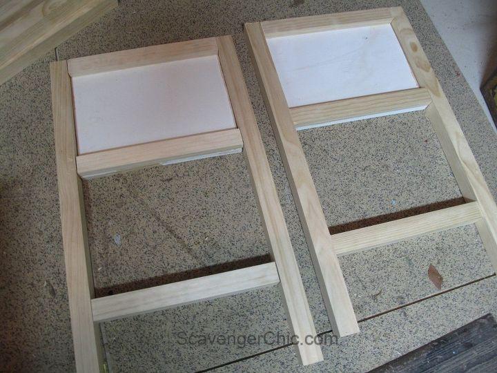 flea market flip metal file box, repurposing upcycling