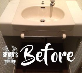 Genial Diy Before After Bathroom Sink And Ceiling Upgrade, Bathroom Ideas,  Plumbing, Wall Decor