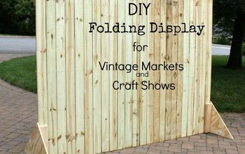 DIY Folding Display for Craft Shows and Markets