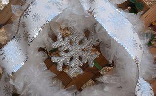 winters wreath, crafts, wreaths
