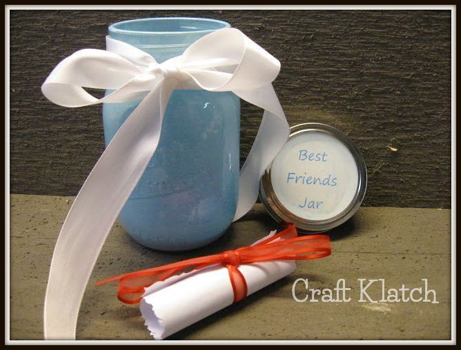 best friends jar craft tutorial, crafts, how to