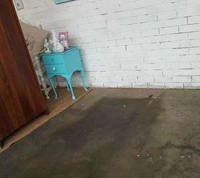 Diy Stenciled Concrete Floor, Concrete Masonry, Flooring