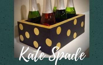 kate spade inspired bottle holder