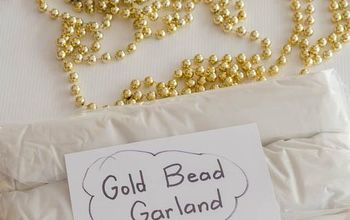 clever hack for storing your christmas bead garland