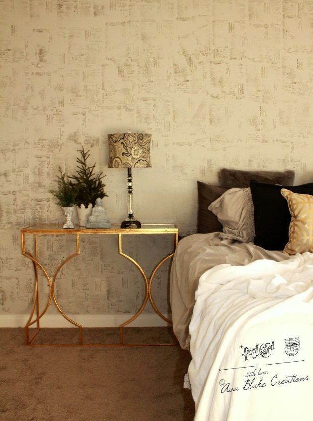 25 Minute Accent Wall Master Bedroom Makeover | Hometalk