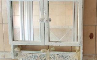 from an old bathroom cabinet to a vintage cabinet, bathroom ideas, kitchen cabinets, kitchen design