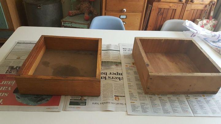repurposing old drawers