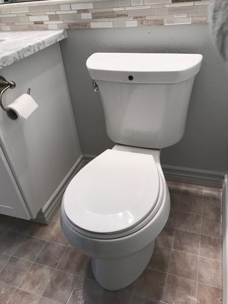 how to remove embarrassing bathroom odors with an mg, bathroom ideas, how to, Can you see the toilet odor venting system