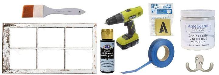 diy chalkboard calendar window, chalkboard paint, crafts