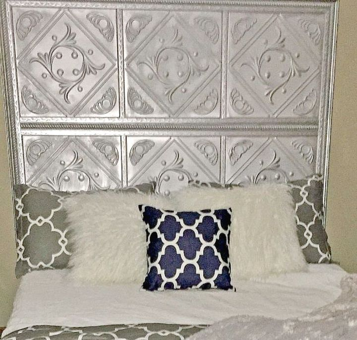 s x ways you never thought of using tile in your home, home decor, As the base of high end looking headboard