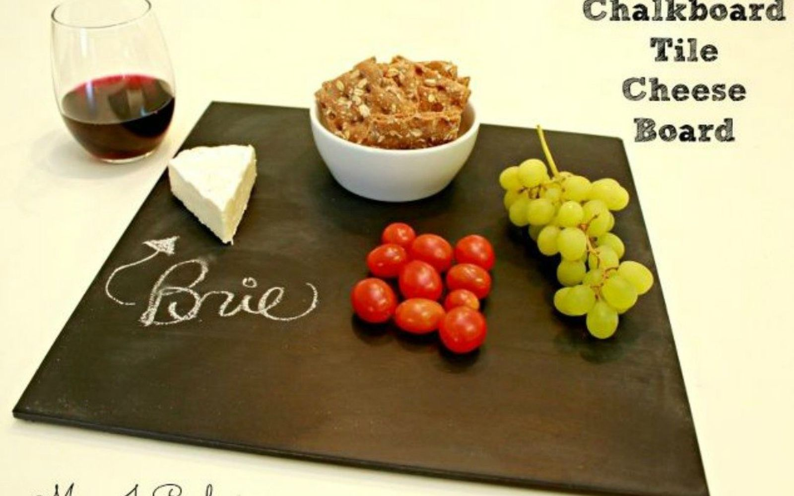 s x ways you never thought of using tile in your home, home decor, As a classy cheese board in your kitchen