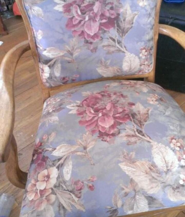 s 7 times people painted uphostered furniture and it looked amazing, painted furniture, When this sad old chair