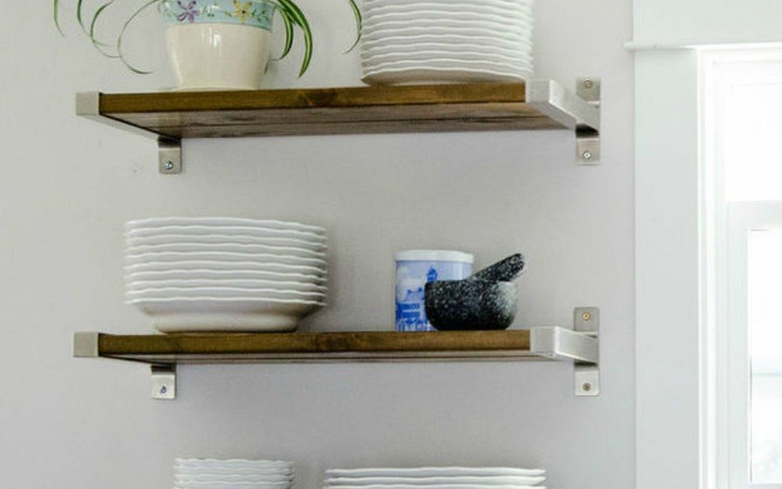 Design For Kitchen Shelves: 15 Clever Ways To Add More Kitchen Storage Space With Open