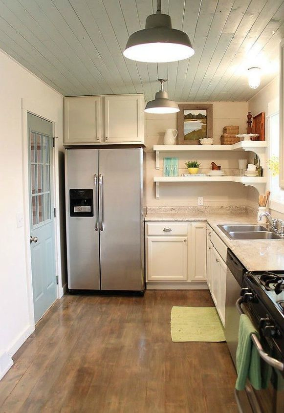 15 Clever Ways To Add More Kitchen Storage Space With Open Shelves Hometalk