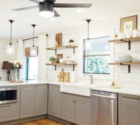 15 Clever Ways To Add More Kitchen Storage Space With Open Shelves |  Hometalk
