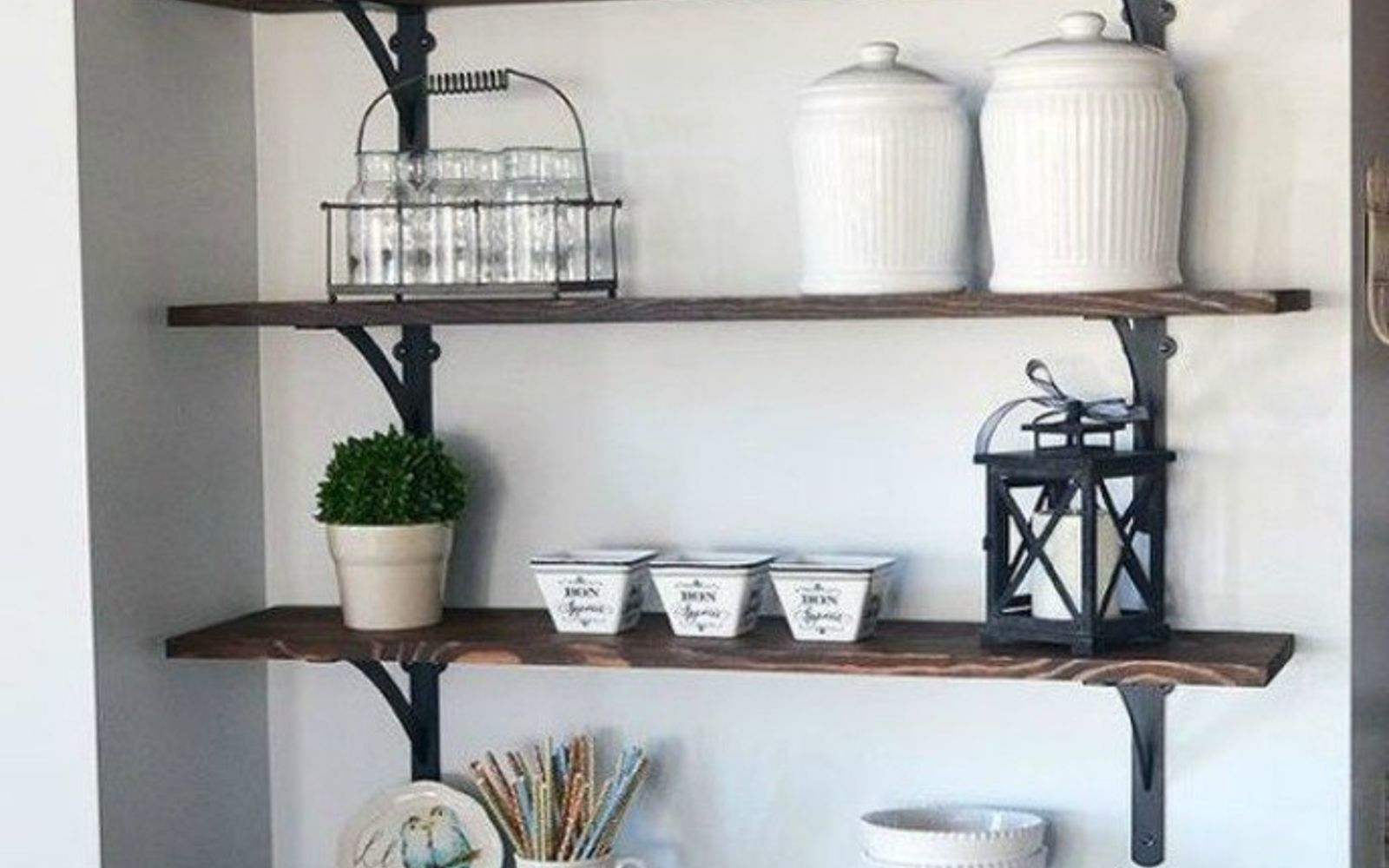 open kitchen shelving 15 clever ways to add more kitchen storage space with open 31229