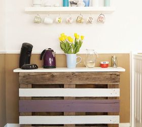 diy coffee bar outdoor living painted furniture