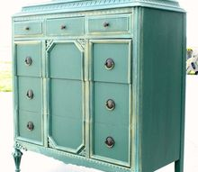 elegant green armoire, painted furniture