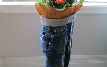 Blue Jean Plant Stand