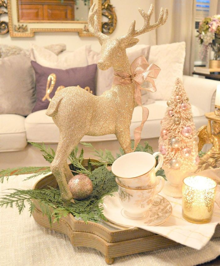 french style living christmas tour - French Style Christmas Decorations