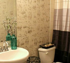 Popular easiest bathroom makeover from tame to toile in hrs bathroom ideas
