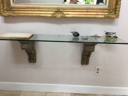 How Do You Distress A Gold Mirror Frame, How To Paint A Gold Framed Mirror
