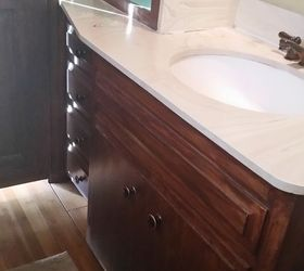 1965 Bathroom Vanity Into Modern Shaker Style, Bathroom Ideas, The Eye Sore  From The
