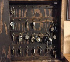 Diy Rustic Wood Key Cabinet, Kitchen Cabinets, Kitchen Design  PinspirationMommy