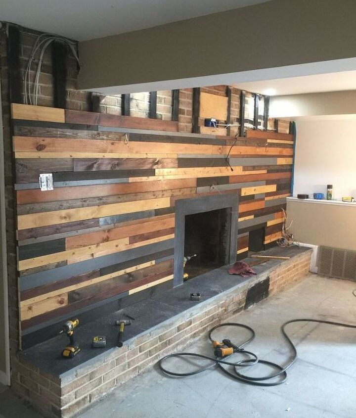 fireplace makeover, fireplaces mantels