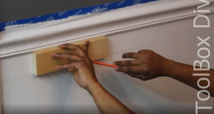 Install Picture Frame Moulding - Budget Friendly Wainscoting | Hometalk