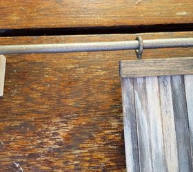 these miniature barn doors are hiding something doors outdoor living & These Miniature Barn Doors Are Hiding Something   Hometalk