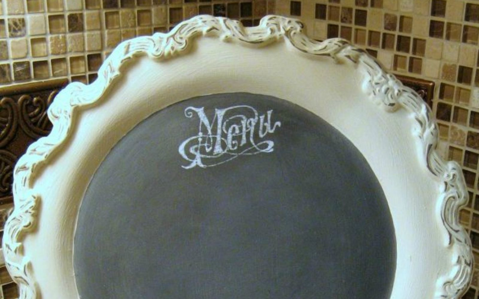 s 14 amazing things you can do with dollar store appetizer dishes, Revamp them into menu plates