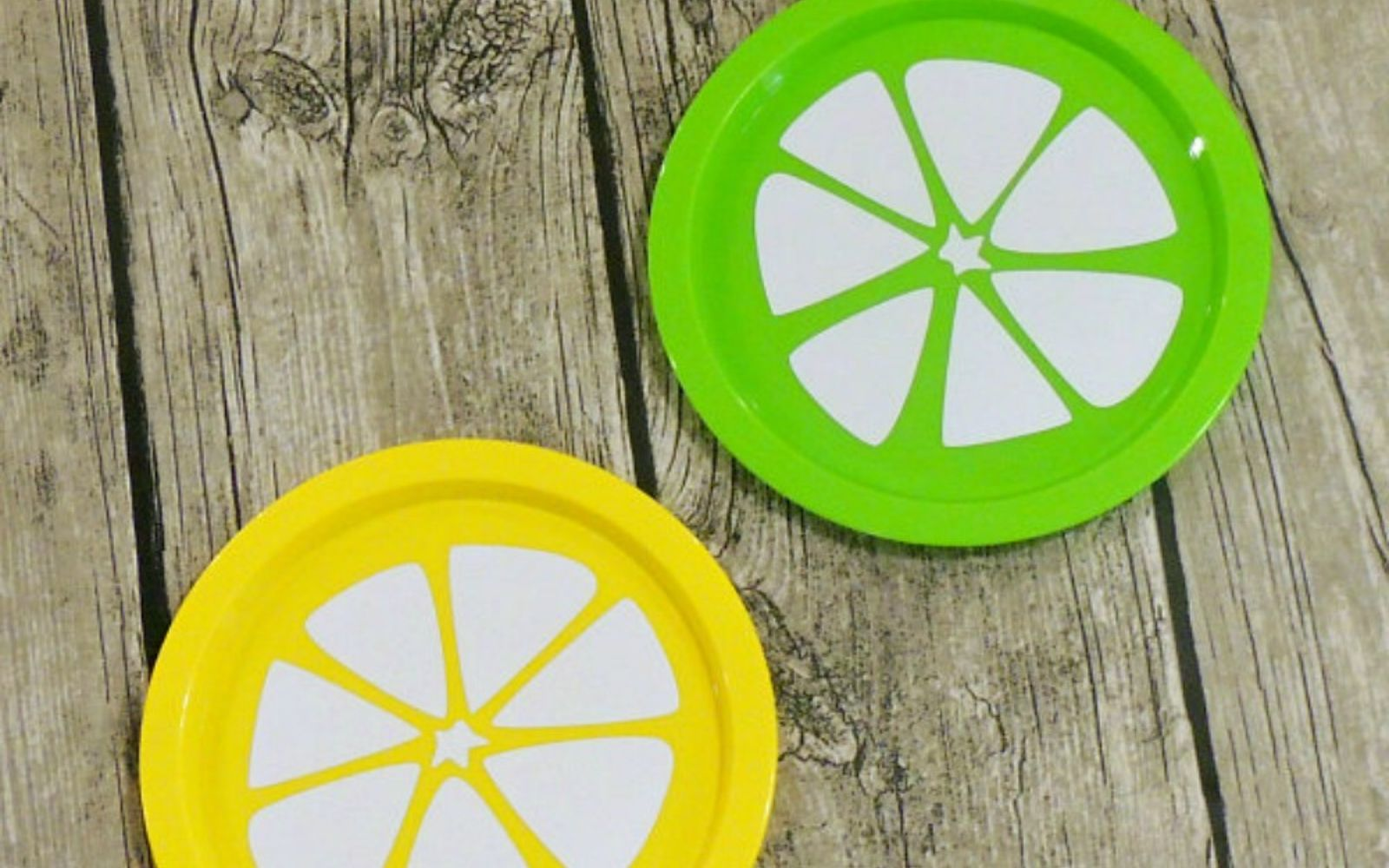 s 14 amazing things you can do with dollar store appetizer dishes, Decorate them for your BBQ table