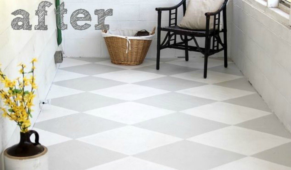 13 shocking ways to transform your concrete floor hometalk for Best way to clean painted concrete floors