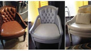 Can I Paint Faux Leather Chairs Hometalk